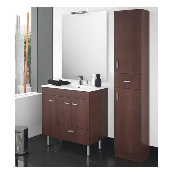 Gl Griferia Para Baño:Mueble de Baño BETANZOS 80 3P+1C de SALGAR
