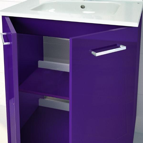 Mueble Baño Gris Arenado:Mueble de Baño SAPHIR Medida 70 cm