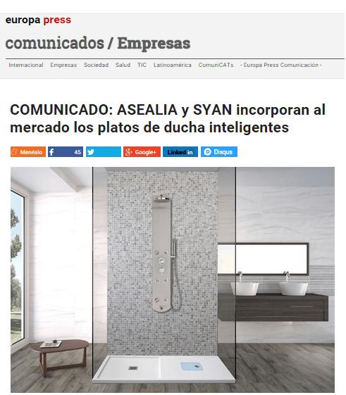 Asealia en Europa Press