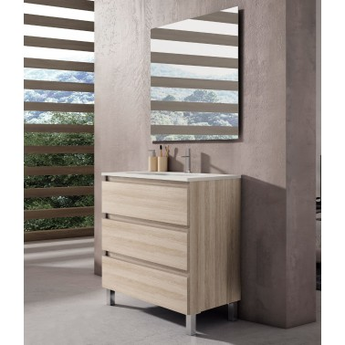 Mueble de baño BOX 80 3C