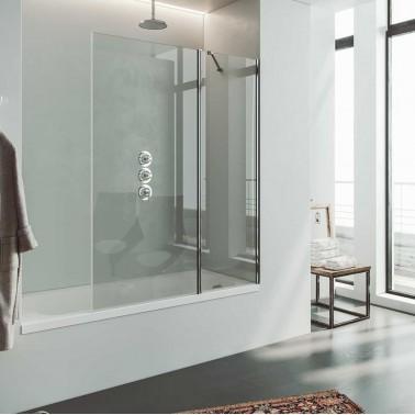 Mampara bañera fijo + abatible PANAMA