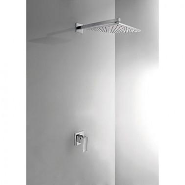 Kit de ducha empotrado CUADRO TRES monomando