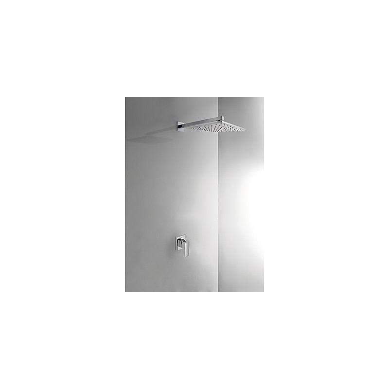 Kit de ducha monomando empotrado Cuadro TRES