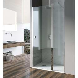 Mampara ducha frontal 1 fijo + 1 puerta abatible NIMES