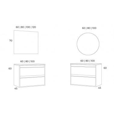 Mueble de Baño ZAO 100