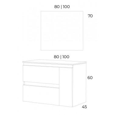 Mueble de Baño KULA 100