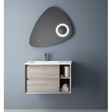 Mueble de Baño HOLE 80 2C + 2 estantes