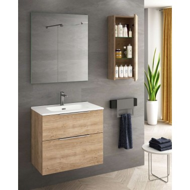 Mueble Baño COMET 70 2C Fondo Reducido