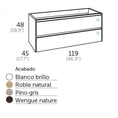 Mueble de Baño PRAGA 120