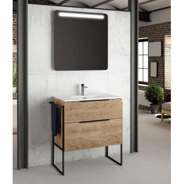 Mueble de baño GALSAKY INDUSTRIAL 80