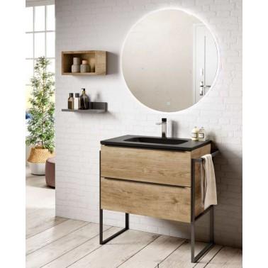 Mueble de baño LANDES INDUSTRIAL 80