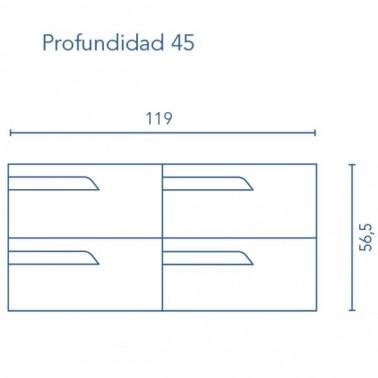 Mueble de Baño VIMALI 120
