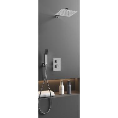 Conjunto de ducha empotrable ORION CROMO termostático