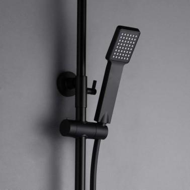 Conjunto de ducha monomando ART en negromate