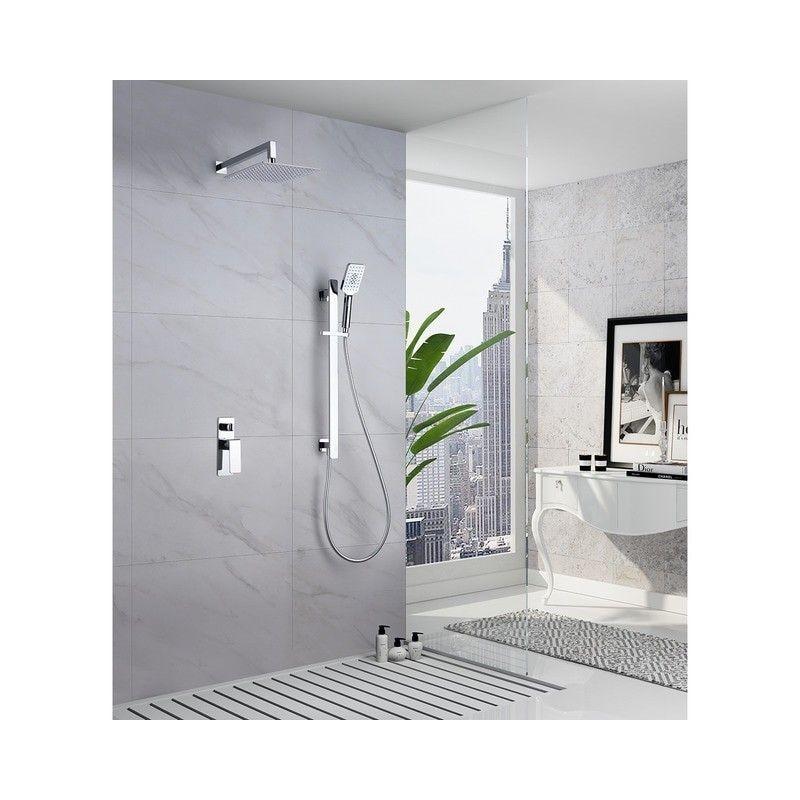 Conjunto de ducha monomando BORNEO