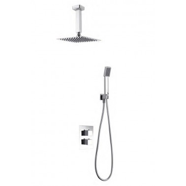 Conjunto empotrado ducha ONS termostático