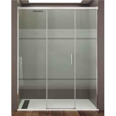 Mampara ducha fijo + puerta + fijo BASIC