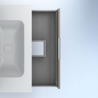 Mueble de baño SUKI de 80 cm 2C