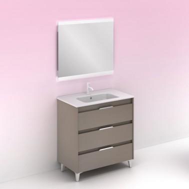 Mueble de baño SUKI de 80 cm 3C