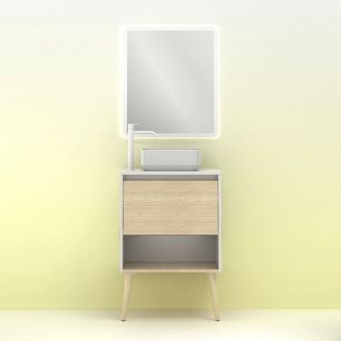 Mueble de baño NARA TOP de 60 cm