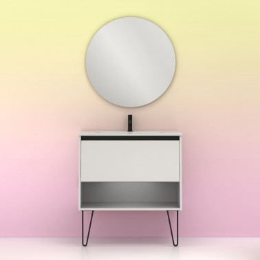 Mueble de baño YOKO de 80 cm