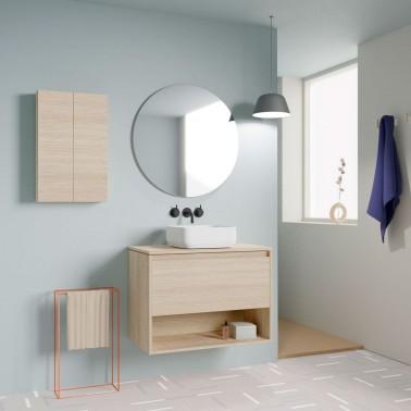 Mueble de baño NIWA TOP de 80 cm