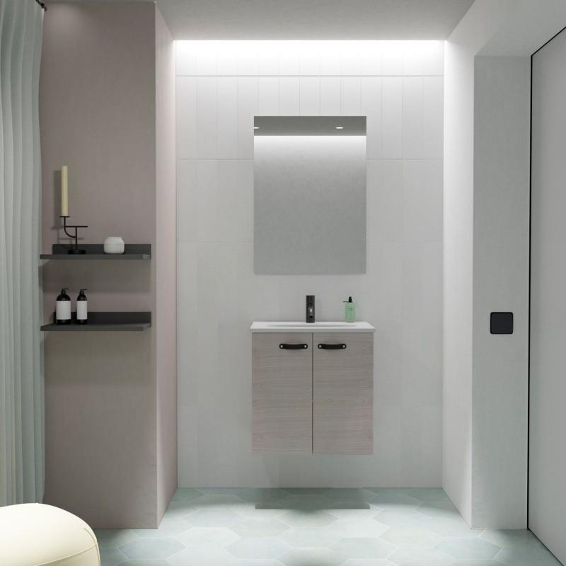 Mueble de baño ANEKO de 50 cm Fondo reducido