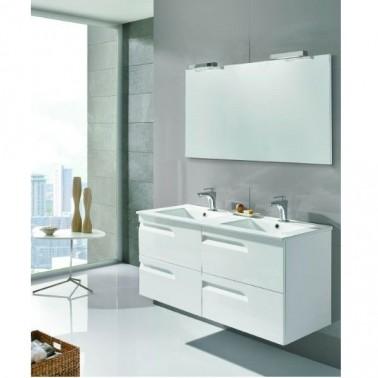 Muebles y lavabo con medida de 120 cm de salgar y royo for Muebles bano baratos valencia
