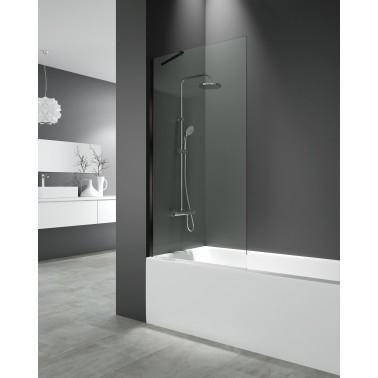Mampara bañera panel fijo SCREEN BLACK
