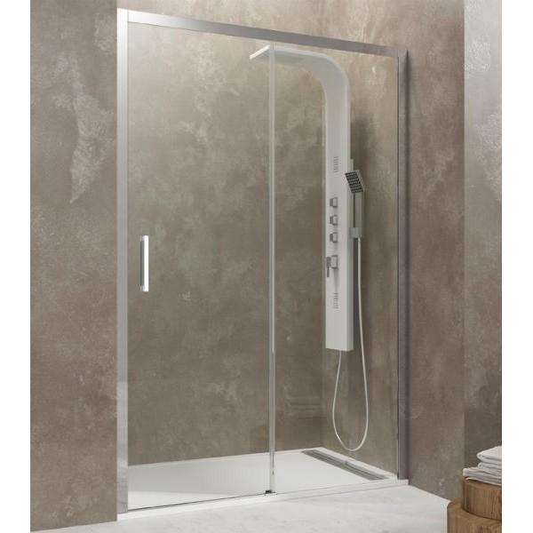 Mampara de ducha frontal 1 fijo 1 corredera aktual de gme - Manparas de ducha ...