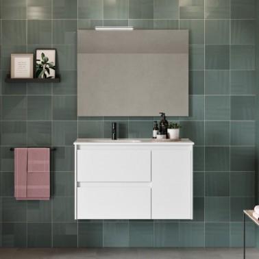 Mueble de Baño ALFA compact 90 2C + 1P
