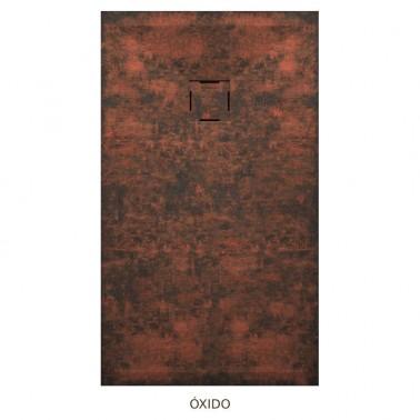 Plato de ducha resina TAURO efecto óxido