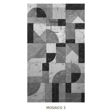 Plato de ducha resina TAURO efecto mosaico