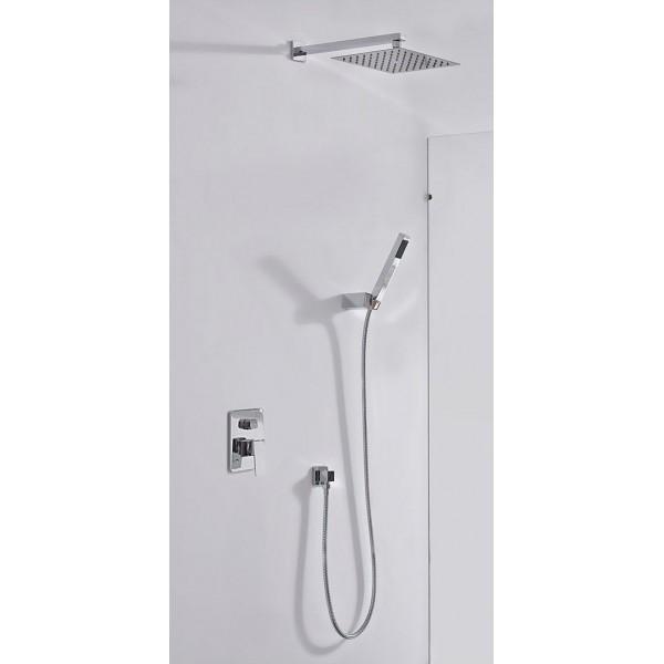 Conjunto de ducha empotrado dublin monomando imex for Griferia ducha homecenter