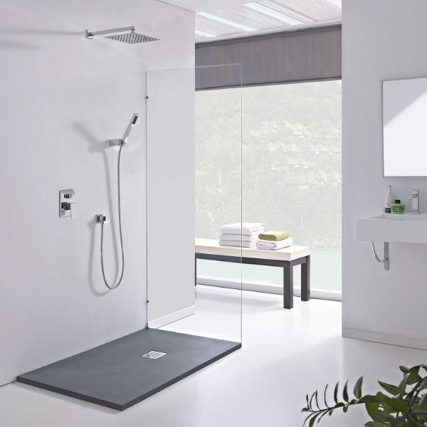 Conjunto de ducha empotrado dublin monomando imex for Griferia monomando ducha
