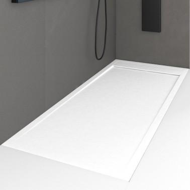 Plato de ducha de resina a medida modelo VIGO