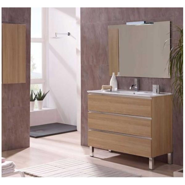 Mueble de ba o tipo marbella 70 cm conjunto completo - Aki muebles de bano ...