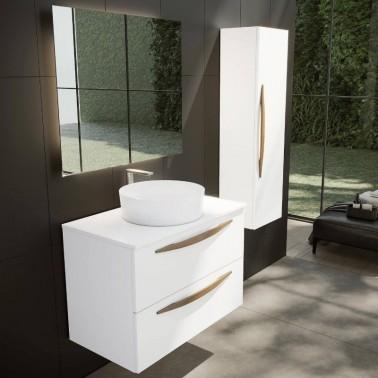 Mueble de Baño ARCO 80 con lavabo sobre encimera
