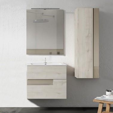 Mueble de baño Vision 80 2 cajones