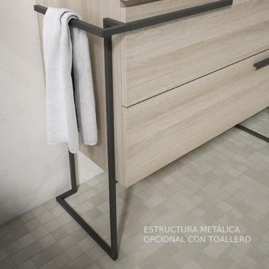 Mueble de baño SCALA 60 2 cajones