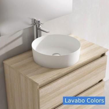 Mueble de baño DECOR 60 2C con lavabo sobre encimera