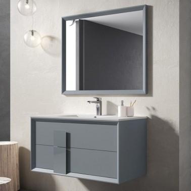 Mueble de Baño DECOR CRISTAL 80 2C