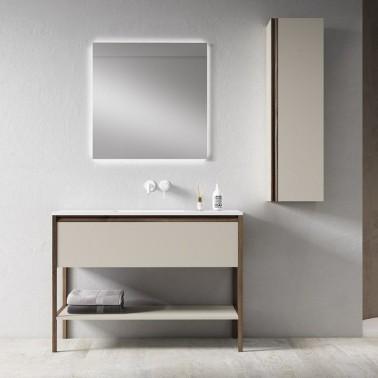 Mueble de Baño ICON 80 1C con lavabo sobre encimera