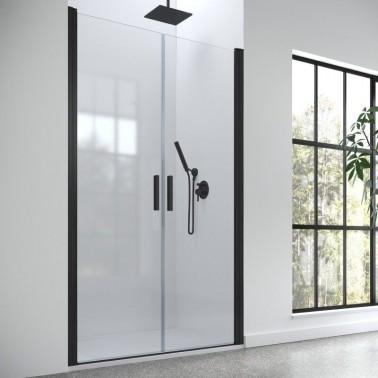 Mampara ducha frontal 2 puertas abatibles HADA PLUS