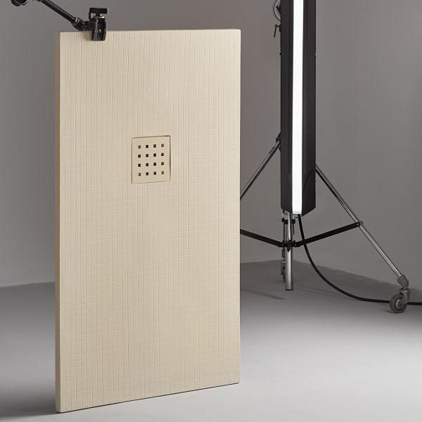 Plato ducha resina antideslizante a medida modelo gresite - Platos de ducha medidas especiales ...