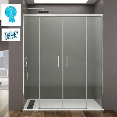 Mampara ducha 2fijos + 2correderas BASIC