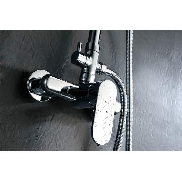 Conjunto de ducha sintra de acero tipo monomando imex for Conjunto de ducha