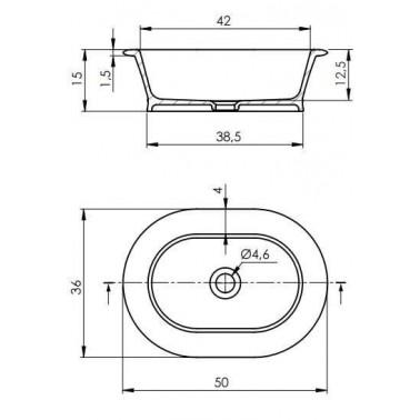 Lavabo circular CLASSIC