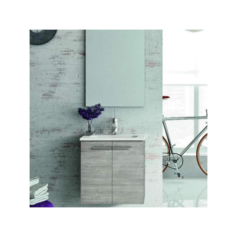 Mueble de ba o modelo street 2p 50 cm mueble lavabo for Muebles cocina 50 cm ancho