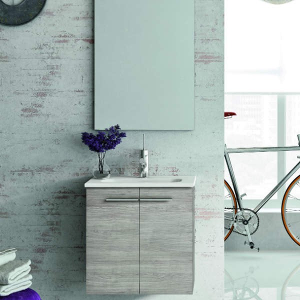 Mueble de ba o modelo street 2p 50 cm mueble lavabo for Muebles de bano de 50 cm